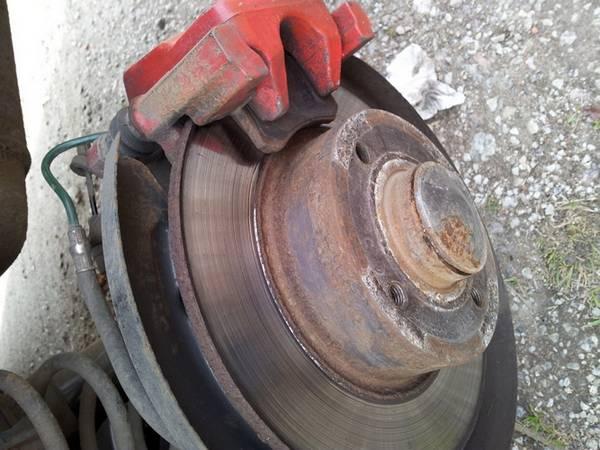 Как определить износ тормозных дисков? с фото