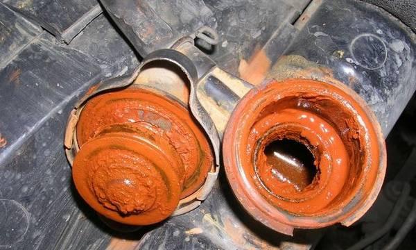 Чем промыть систему охлаждения двигателя от ржавчины с фото