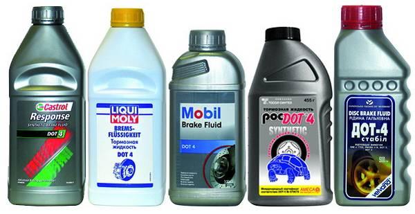 Проверка и замена тормозной жидкости своими руками с фото