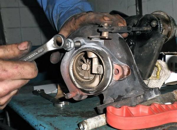 Ремонт турбин дизельных двигателей Причины неисправностей с фото