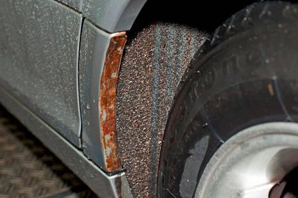 Как защитить кузов от коррозии и механических повреждений с фото