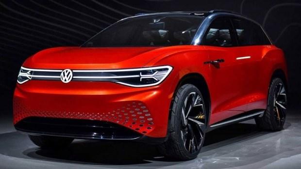 Концепт Volkswagen ID. Roomzz