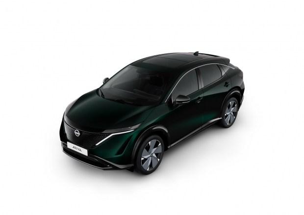 Nissan Ariya Aurora Green