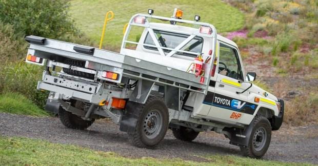 электрический вариант Toyota Land Cruiser 70
