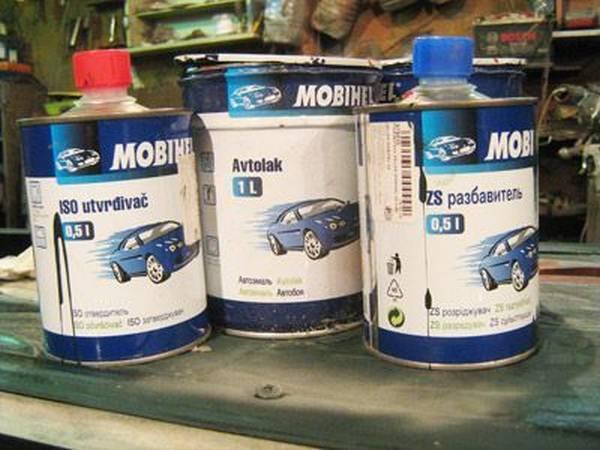 Чем разбавить автомобильную краску? Несколько полезных советов с фото