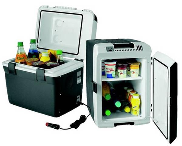 Холодильник автомобильный компрессорный  комфорт в салоне с фото
